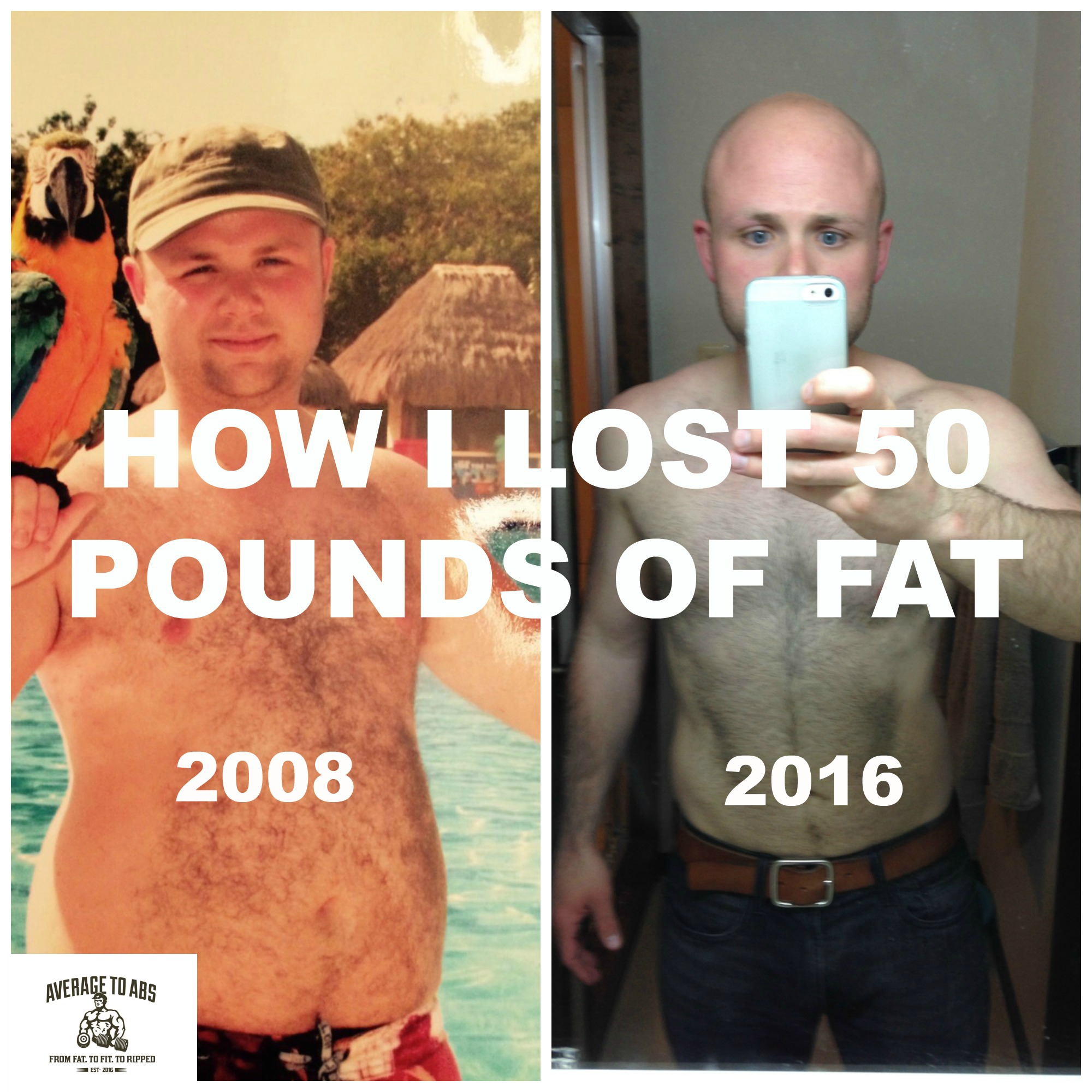 HOW I LOST 50 POUNDS OF FAT