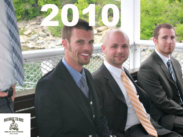 At a friends wedding in July 2010.