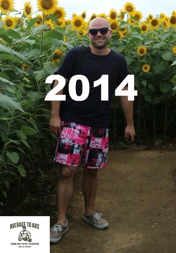 Summer 2014. 173 pounds.